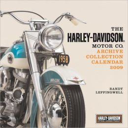 2009 Harley-Davidson Archive Collection Wall Calendar