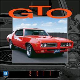 2011 GTO Wall Calendar