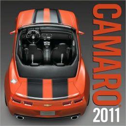 2011 Camaro Wall Calendar