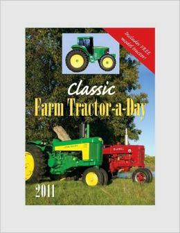 2011 Classic Farm Tractor-a-Day Box Calendar
