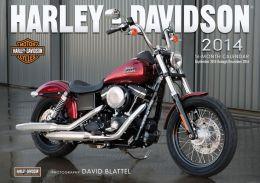 Harley-Davidson 2014: 16 Month Calendar - September 2013 through December 2014
