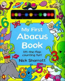My First Abacus Book: Lift-the-Flap Counting Fun!