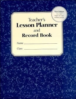 Teachers Lesson Planner and Record Book