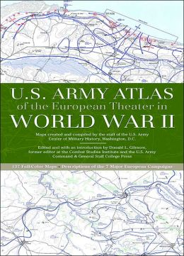 U.S. Army Atlas of the European Theater in World War II