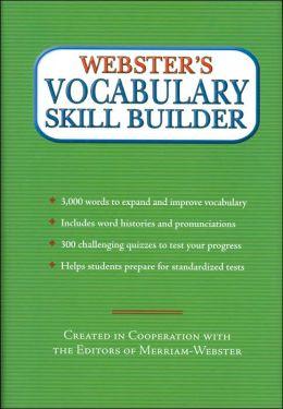 Webster's Vocabulary Skill Builder