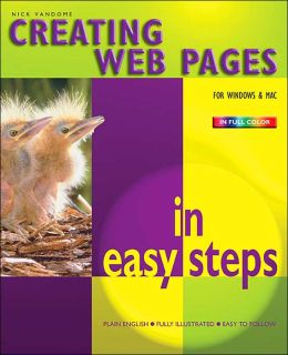 Creating Web Pages (In Easy Steps Series)