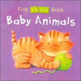 First Jigsaw Book: Baby Animals