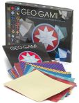 Book Cover Image. Title: Geo-gami:  The Art of Making Geometrical Shapes from Paper, Author: Katherine Gleason