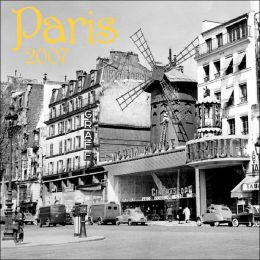 2007 Paris Wall Calendar