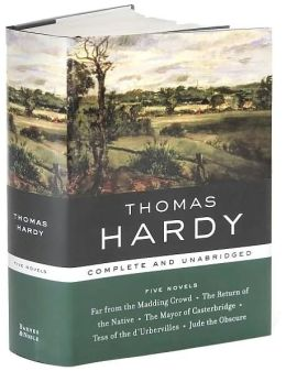 Thomas Hardy: Five Novels (Barnes & Noble's Library of Essential Writers Series)