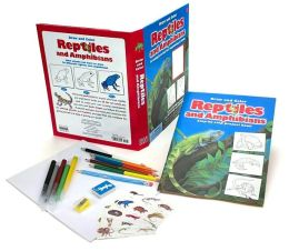 Draw and Color: Reptiles & Amphibians