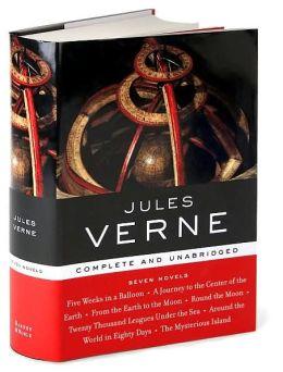 Jules Verne Seven Novels Barnes Noble 39 S Library Of