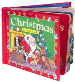 Christmas Stencil Book