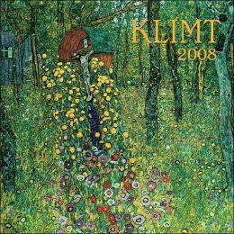 2008 Klimt Wall Calendar