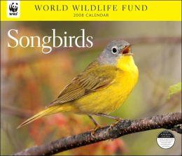2008 Songbirds WWF Wall Calendar