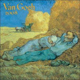2008 Van Gogh Mini Wall Calendar