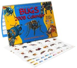 2008 Bugs with Stickers Wall Calendar