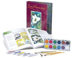 Easy Watercolor Book & Gift Set
