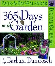 365 Days in the Garden Page-A-Day Calendar 2002