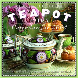 2004 Collectible Teapot and Tea Wall Calendar
