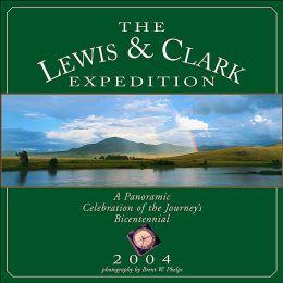 2004 Lewis Clark Wall Calendar