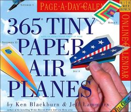 2004 365 Tiny Paper Airplanes Page a Day Calendar