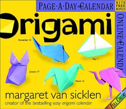2004 Origami Daily Boxed Calendar