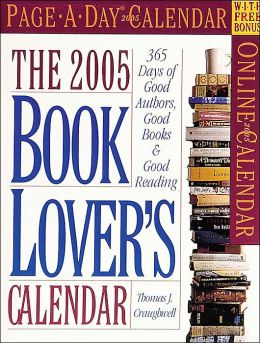 2005 Book Lover's Page-A-Day Calendar
