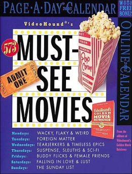 2005 Must See Movies Box Calendar