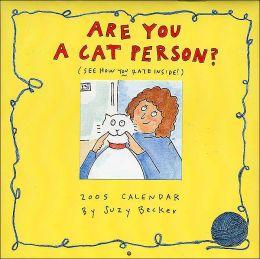 2005 Are You A Cat Person Mini Wall Calendar