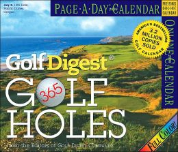 2006 365 Golf Holes Color Page-A-Day Box Calendar