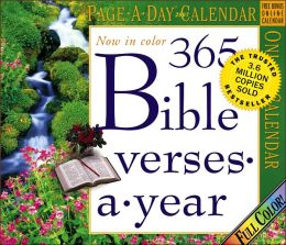 2007 365 Bible Verses Page-A-Day Calendar
