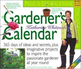 2006 Gardener's Calendar Color Page-A-Day Box Calendar