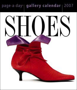 2007 Shoes Gallery Box Calendar