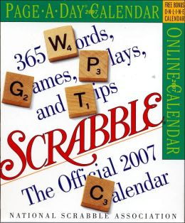 2007 Scrabble Page-A-Day Box Calendar
