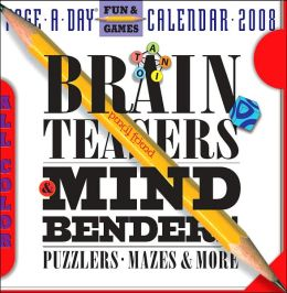 2008 Brainteasers, Mind Benders Page-A-Day Calendar