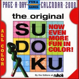 2008 The Original Sudoku Page-A-Day Calendar