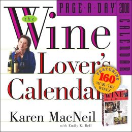 2008 Wine Lover's Page-A-Day Calendar