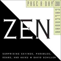 2008 Zen Page-A-Day Calendar