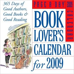 2009 Book Lover's Page-A-Day Calendar