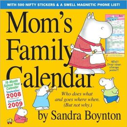2009 Mom's Family Wall Calendar