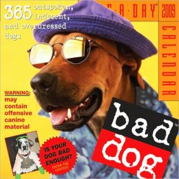 2009 Bad Dog Page-A-Day Calendar