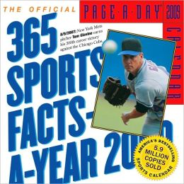 2009 365 Sports Facts-A-Year Page-A-Day Calendar