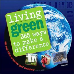 2009 Living Green Page-A-Day Calendar