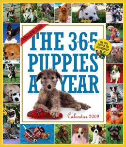 2009 365 Puppies-A-Year Wall Calendar