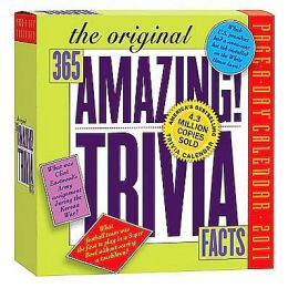2011 365 Amazing Trivia Facts Page-A-Dayy