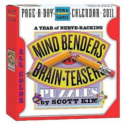 2011 Mind Benders and Brainteasers Page-A-Dayy