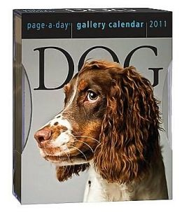 2011 Dog Page-A-Day Gallery Calendars