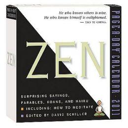 2011 Zen Page-A-Day Calendar