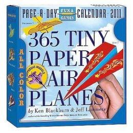2011 Tiny Paper Airplanes Page-A-Day
